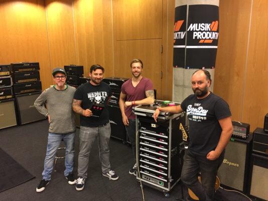 Ampete Engineering at Guitar Summit 2017